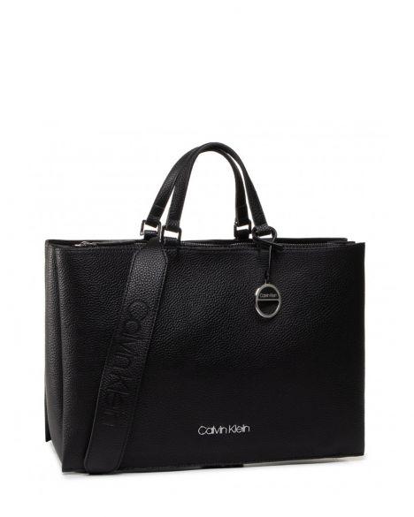 Calvin Klein Sided Tote Kadın El Çantası K60K606353 Black