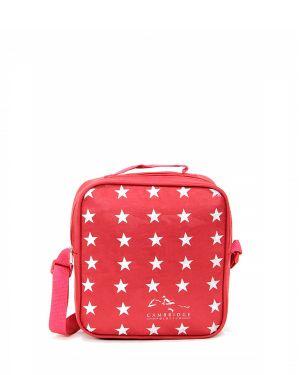 Yıldız Desenli Beslenme Çantası Plbsl80001 Kırmızı