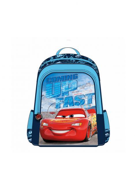 Cars Hawk Coming Up Fast Erkek Çocuk İlkokul Çantası OTTO-5661 Siyah - Kırmızı