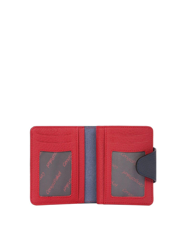 Cengiz Pakel Cengiz 5 Blok Organizer Erkek Portföyü 13632 Lacivert - Kırmızı