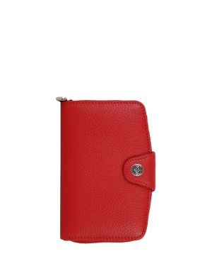 Cengiz Pakel Çıt Çıtlı Kadın Portföyü 65118 Kırmızı
