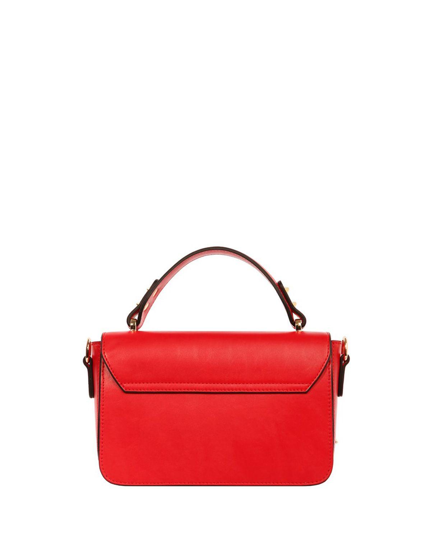 Cengiz Pakel Taş Tokalı Kadın El / Omuz Çantası 7254O Kırmızı
