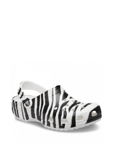 Crocs Classic Animal Print Clog CR1108 White/Zebra Print