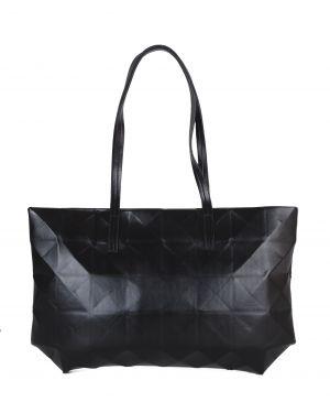 DSN Geometrik Kabartma Desenli Kadın Kol Çantası B30411 Siyah
