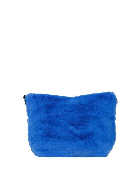 DSN Çıt Çıtlı Kadın El Çantası Y4710 Mavi