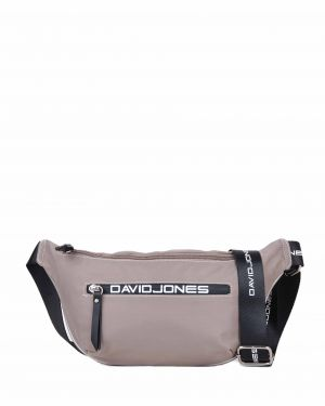 David Jones Askı Detaylı Kadın Bel Çantası 5962-1 Gri