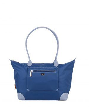 David Jones Renk Geçişli Kadın Çantası CM5034 Mavi