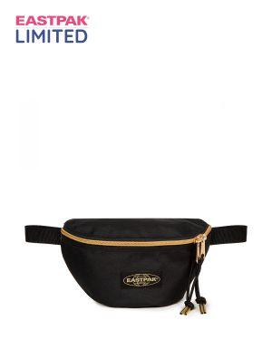 Limited Gold Detaylı Springer Bel Çantası  Black Gold