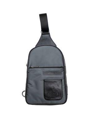 Endémique Studio Miniverse Suni Deri Ön Cepli Erkek Body Bag EMB-002