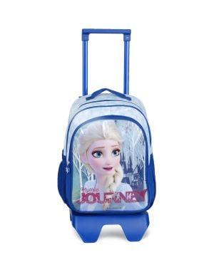 Frozen Check Mythic Tekerlekli İlkokul Çantası 5132 Lacivert - Mavi