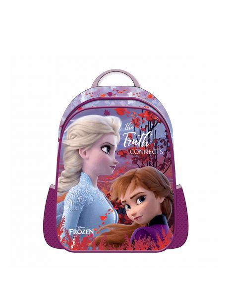 Frozen Elsa-Anna Hawk The Truth Connect Kız Çocuk İlkokul Çantası OTTO-5667 Mor