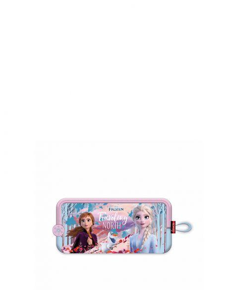 Frozen Elsa-Anna Hawk Travelling North Kız Çocuk Kalemlik OTTO-5673 Pembe - Mavi