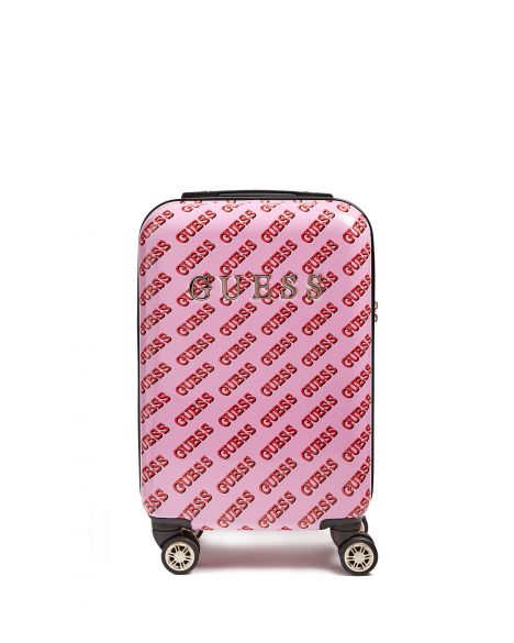 Guess Haidee 8-Wheel 18 İn Kabin Boy Valiz D7586983 Pink Multi