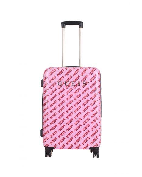 Guess Haidee 8-Wheel 24 In Orta Boy Valiz D7586984 Pink Multi