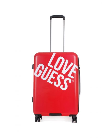 Guess Haidee 8-Wheel 24 In Orta Boy Valiz G7586984 Red