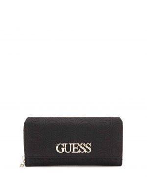 Guess Heritage Pop Logo Kadın Cüzdanı SWSG717862 Black