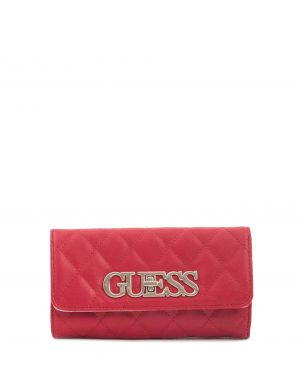 Guess Heritage Pop Logo Kadın Cüzdanı VG717565 Red