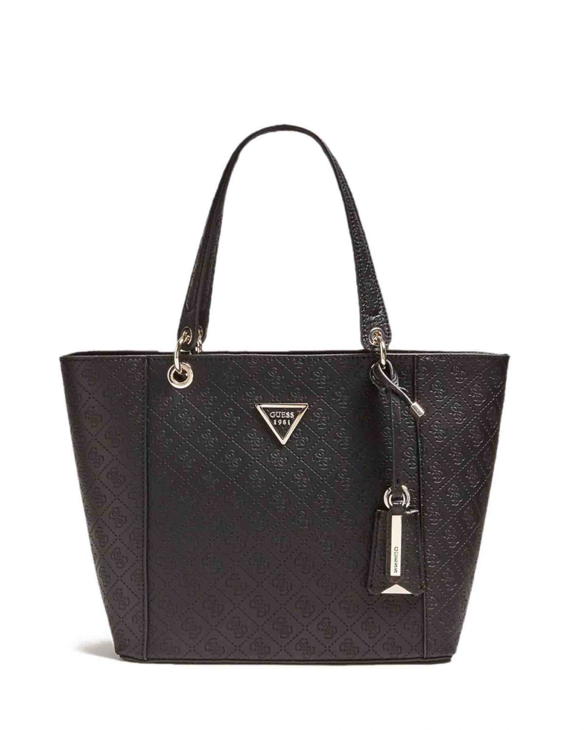 Guess Kamryn With Embossed Kadın Çantası SD669123 Black