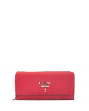 Guess Portefeuille Leanne Kadın Cüzdanı SWVY717062 Crimson