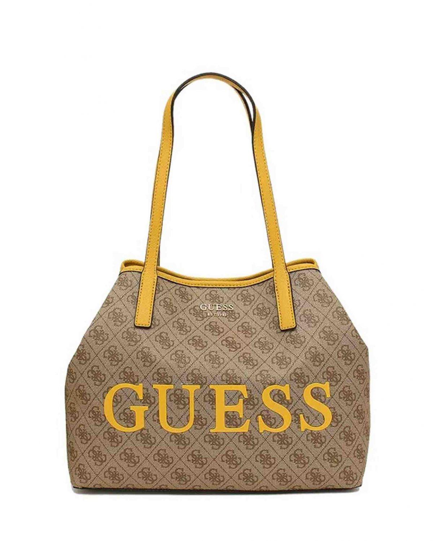 Guess Vikky Logo Kadın Çantası SL699523 Brown - Marigold