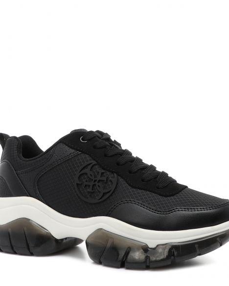 Guess Dreamer/active Lady/fabric Kadın Sneakers FL6DREESU12 Black / Black