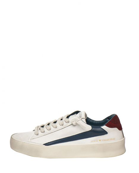 Guess Firenze Erkek Sneakers FM7FIRELE12 White Blue