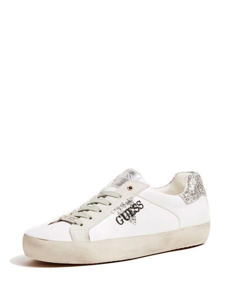 Guess Grea Kadın Ayakkabı FL7GREELE12 White - Silver