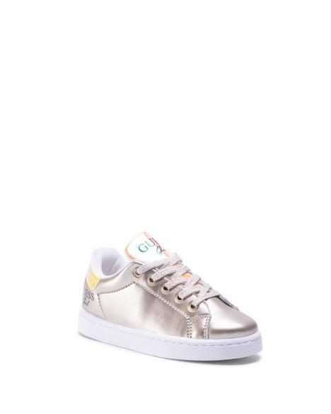 Guess Lucy Kız Çocuk Sneakers FI7LUCELE12 Gold