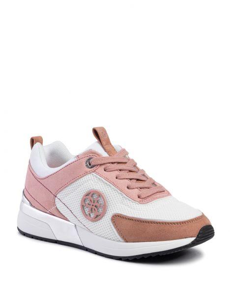 Guess Marlyn Kadın Sneakers FL5MR5FAB12 White Pink