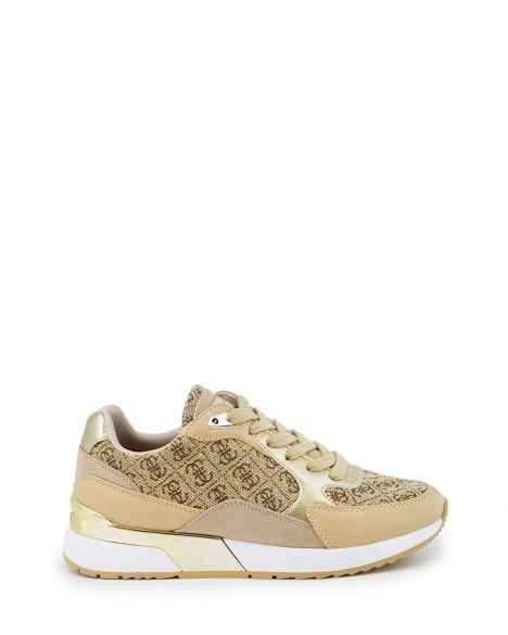 Guess Moxea4/active Lady/fabric Kadın Sneakers FL6MX4ESU12 Platin