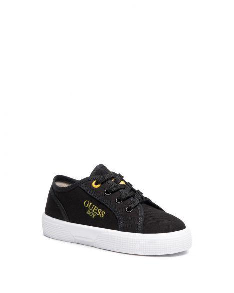 Guess Piumo Erkek Çocuk Sneakers FI7PIOFAB12 Black
