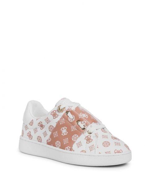 Guess Rejeena Kadın Sneakers FL7RJAFAL12 White Beige