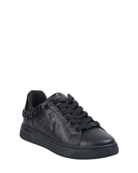 Guess Riyan/active Lady/leather Like Kadın Sneakers FL5RIYFAL12 Black