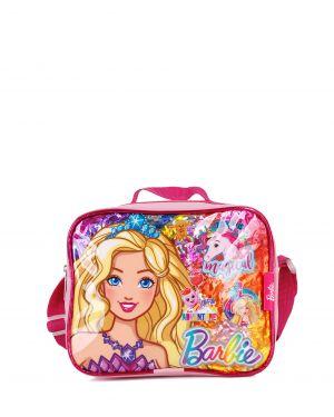 Barbie Mix Color Beslenme Çantası 95683 Pudra