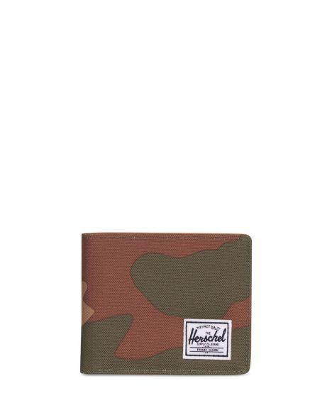 Herschel Hank Unisex Cüzdan 10368 Woodland Camoo