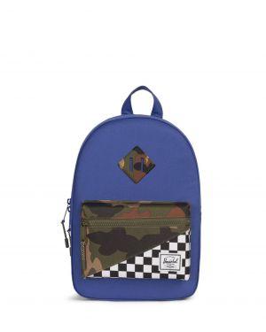 Herschel Heritage Kids Çocuk Sırt Çantası 10313 Deep Ultramarine/Checker/Woodland Camo