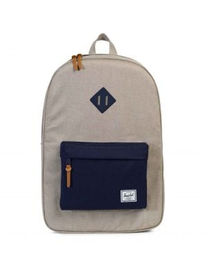 Herschel Heritage Sırt Çantası 10007 Light Khaki Crosshatch