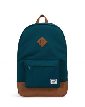 Herschel Heritage Sırt Çantası 10007 Deep Teal/Tan Synthetic Leather