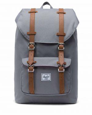 Herschel Little America Mid-Volume Co 10020 Grey/Tan Synthetic Leather
