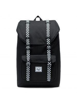 Herschel Little America Mid-Volume Co 10020 Rugzak Black -  Checkerboard