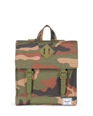 Herschel Survey Kids Co Çocuk Sırt Çantası 10142 Woodland Camo