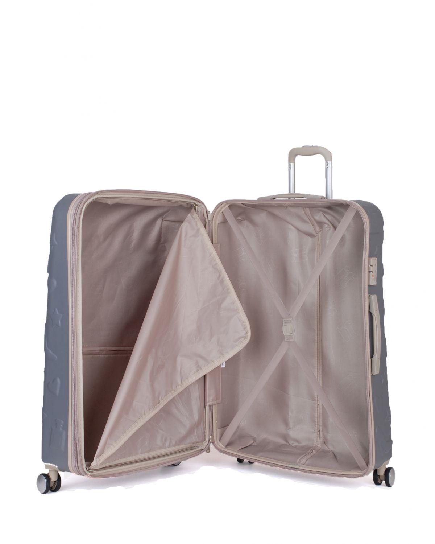 IT Luggage Girl Essentials Büyük Boy Valiz 16-2240-08 Charcoal