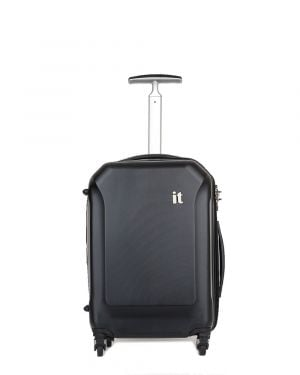 IT Luggage It Aerodynamic Kabin Boy Sert Yüzeyli Valiz 16-2128-04 Siyah
