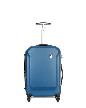 IT Luggage It Aerodynamic Kabin Boy Sert Yüzeyli Valiz 16-2128-04 Lacivert