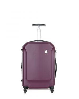 IT Luggage It Aerodynamic Kabin Boy Sert Yüzeyli Valiz 16-2128-04 Mor