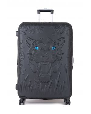IT Luggage Tiger Eyes Büyük Boy Valiz 16-2251-08 Black