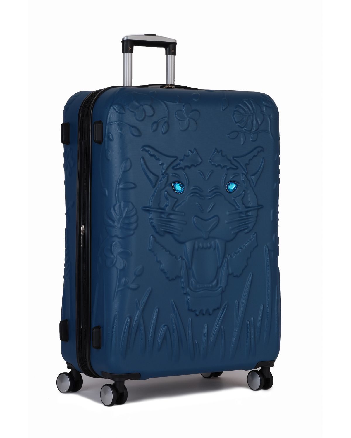 IT Luggage Tiger Eyes Büyük Boy Valiz 16-2251-08 Blue