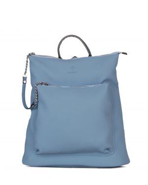 Jacquline Zincir Detaylı Kadın Sırt Çantası IM261 Mavi