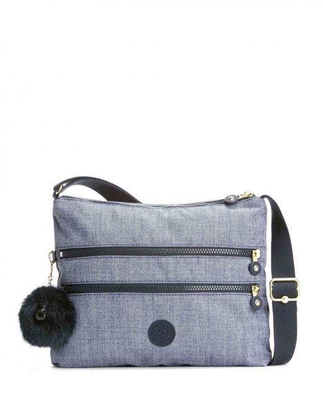 Kipling Alvar Basic Plus Çapraz Askılı Kadın Çantası K12472 Cotton Jeans