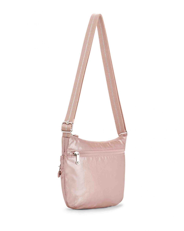 Kipling Arto S Basic Plus Ewo Çapraz Askılı Kadın Çantası K10146 Metallic Blush